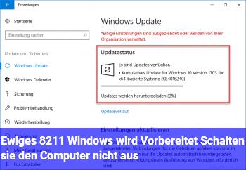 windows wird vorbereitet