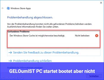 [GELÖST] PC startet, bootet aber nicht