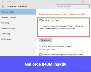 GeForce 840M (inaktiv)