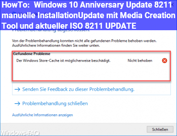 HowTo Windows 10 Anniversary Update – manuelle Installation/Update mit Media Creation Tool und aktueller ISO – UPDATE