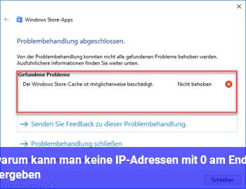 warum kann man keine IP-Adressen mit 0 am Ende vergeben?