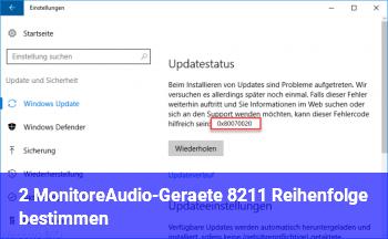 2 Monitore/Audio-Geräte – Reihenfolge bestimmen?