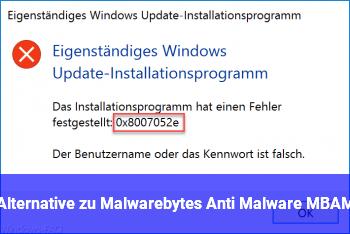 Alternative zu Malwarebytes Anti Malware (MBAM)