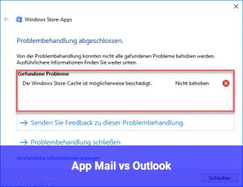 App Mail vs. Outlook