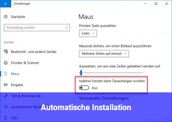 Automatische Installation