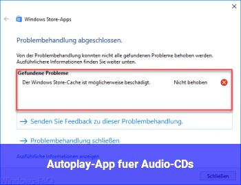 Autoplay-App für Audio-CDs