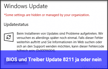 BIOS und Treiber Update – ja oder nein?