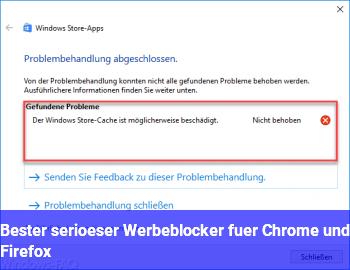 Bester (seriöser) Werbeblocker für Chrome und Firefox
