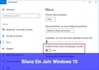 Bilanz: Ein Jahr Windows 10