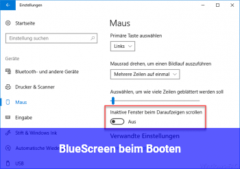 BlueScreen beim Booten!