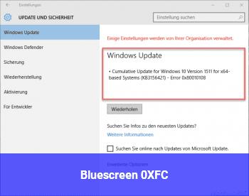 Bluescreen 0XFC