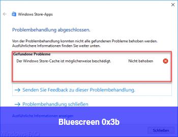 Bluescreen 0x3b
