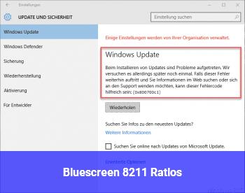 Bluescreen – Ratlos