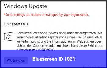 Bluescreen ID 1031