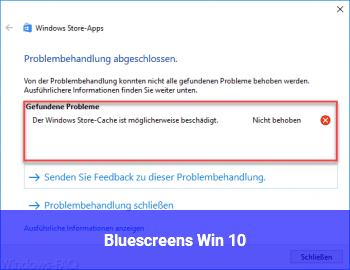Bluescreens Win 10