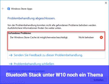 Bluetooth Stack unter W10 noch ein Thema?