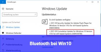 Bluetooth bei Win10