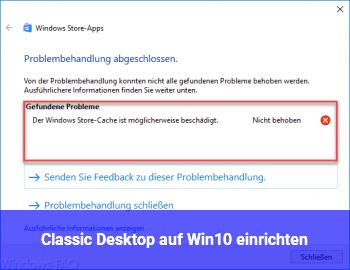 Classic Desktop auf Win10 einrichten