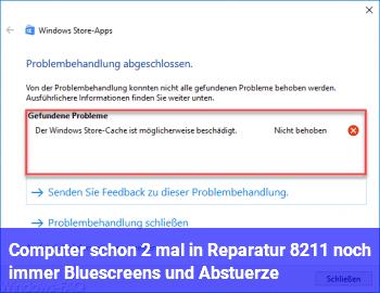 Computer schon 2 mal in Reparatur – noch immer Bluescreens und Abstürze