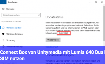 connect box von unitymedia mit lumia 640 dual sim nutzen. Black Bedroom Furniture Sets. Home Design Ideas