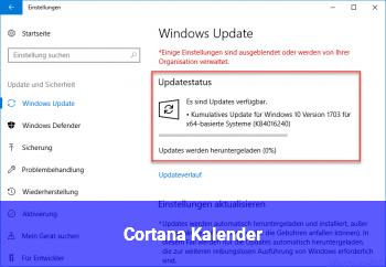 Cortana Kalender