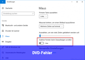 DVD-Fehler