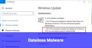 Dateilose Malware