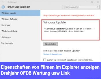 Eigenschaften von Filmen im Explorer anzeigen (Drehjahr, OFDB Wertung usw, Link)