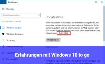 Windows 10 Erfahrungen