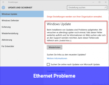 Ethernet Probleme