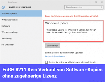 EuGH – Kein Verkauf von Software-Kopien ohne zugehörige Lizenz