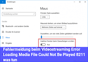 "Fehlermeldung beim Videostreaming: ""Error Loading Media File Could Not Be Played"" – was tun?"
