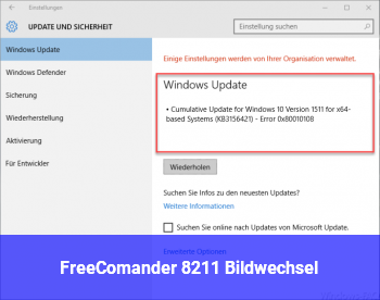 FreeComander – Bildwechsel