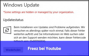 Freez bei Youtube