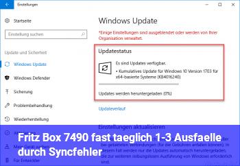 Fritz Box 7490, fast täglich 1-3 Ausfälle durch Syncfehler