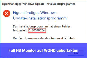 Full HD Monitor auf WQHD übertakten