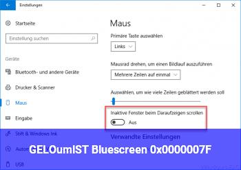 [GELÖST] Bluescreen 0x0000007F