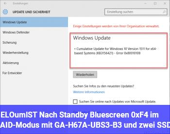 [GELÖST] Nach Standby Bluescreen 0xF4 im RAID-Modus mit GA-H67A-UBS3-B3 und zwei SSDs