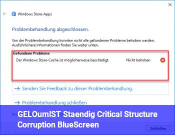 [GELÖST] Ständig Critical_Structure_Corruption BlueScreen :(
