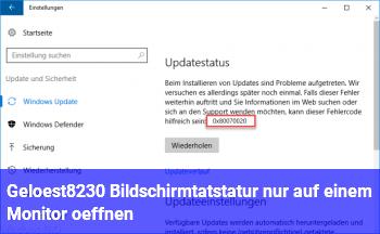 [Gelöst…] Bildschirmtatstatur nur auf einem Monitor öffnen?