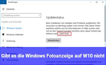 Gibt es die Windows Fotoanzeige auf W10 nicht?