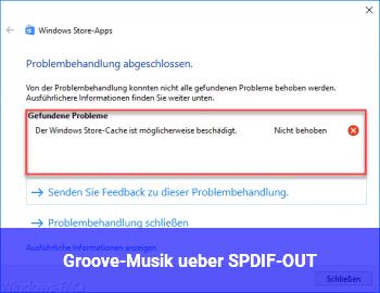 Groove-Musik über SPDIF-OUT