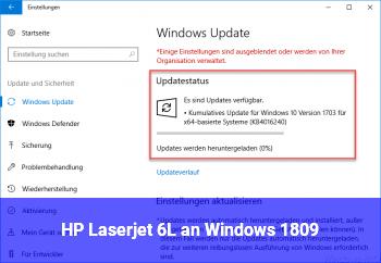 HP Laserjet 6L an Windows 1809