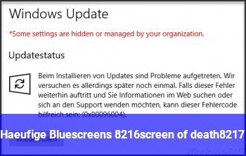 Häufige Bluescreens ('screen of death')