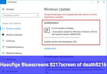 Häufige Bluescreens ('screen of death')