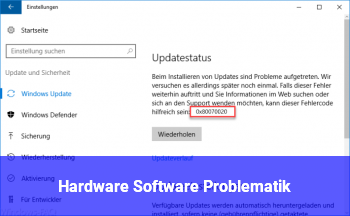 Hardware /Software Problematik