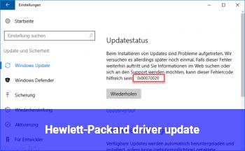 Hewlett-Packard driver update