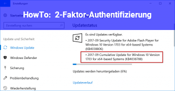 HowTo 2-Faktor-Authentifizierung