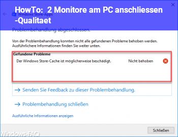 HowTo 2 Monitore am PC anschliessen -Qualität