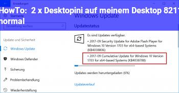 HowTo 2 x Desktop.ini auf meinem Desktop – normal?